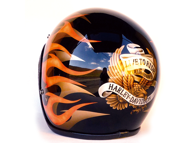 SMALL JET HELMET ** LIVE TO RIDE / RIDE TO LIVE **